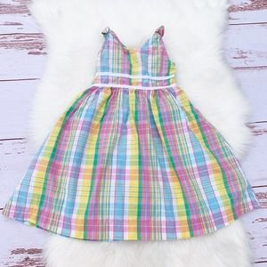 Lilly Pulitzer Plaid Cupcake Dress